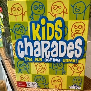 Kids charades game